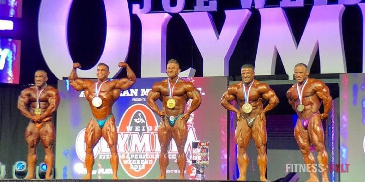 Olympia 2018 Men's 212 Results