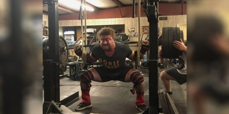Andrew Hause 20-year-old Powerlifter