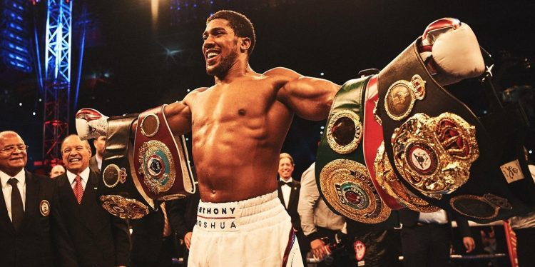 Anthony Joshua def. Alexander Povetkin by TKO at 1:59 of Round Seven
