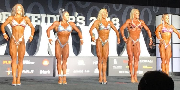 2018 Olympia: Fitness Callout Report