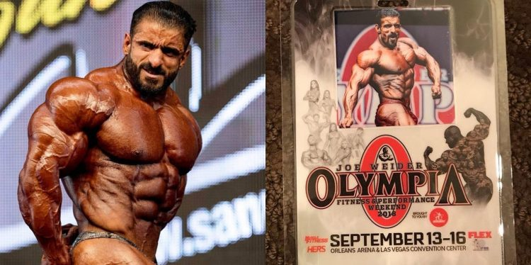 Hadi will NOT be at the Olympia 2018