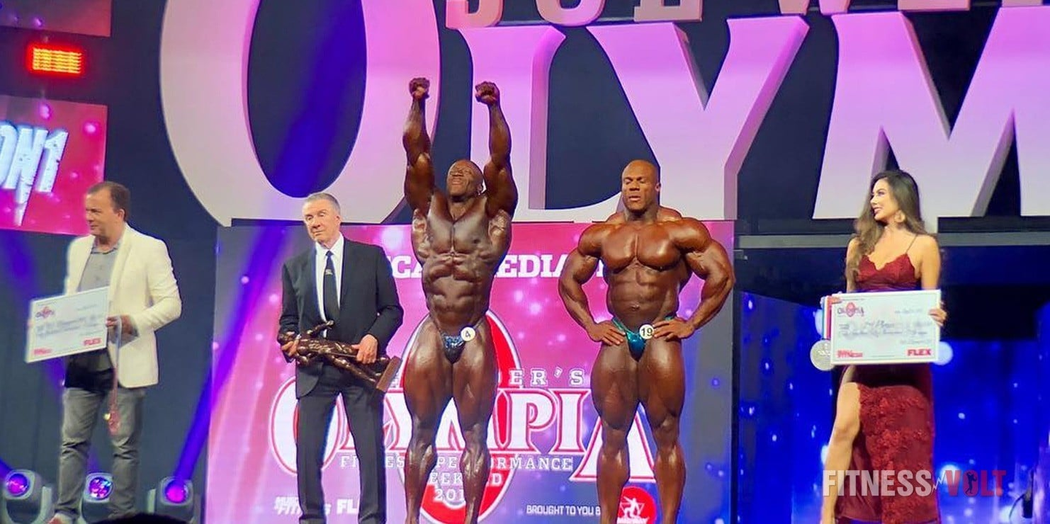 Shawn Rhoden is the winner of Mr. Olympia 2018