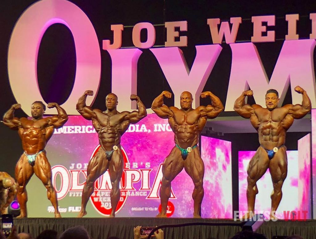 2018 Mr  Olympia Open Bodybuilding Results & Prize Money