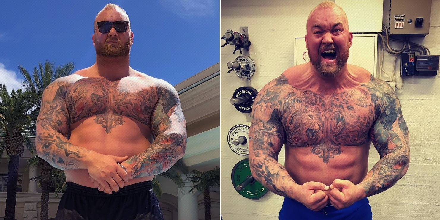 Hafthor Bjornsson Just BREAKS Another World Record - Video ...