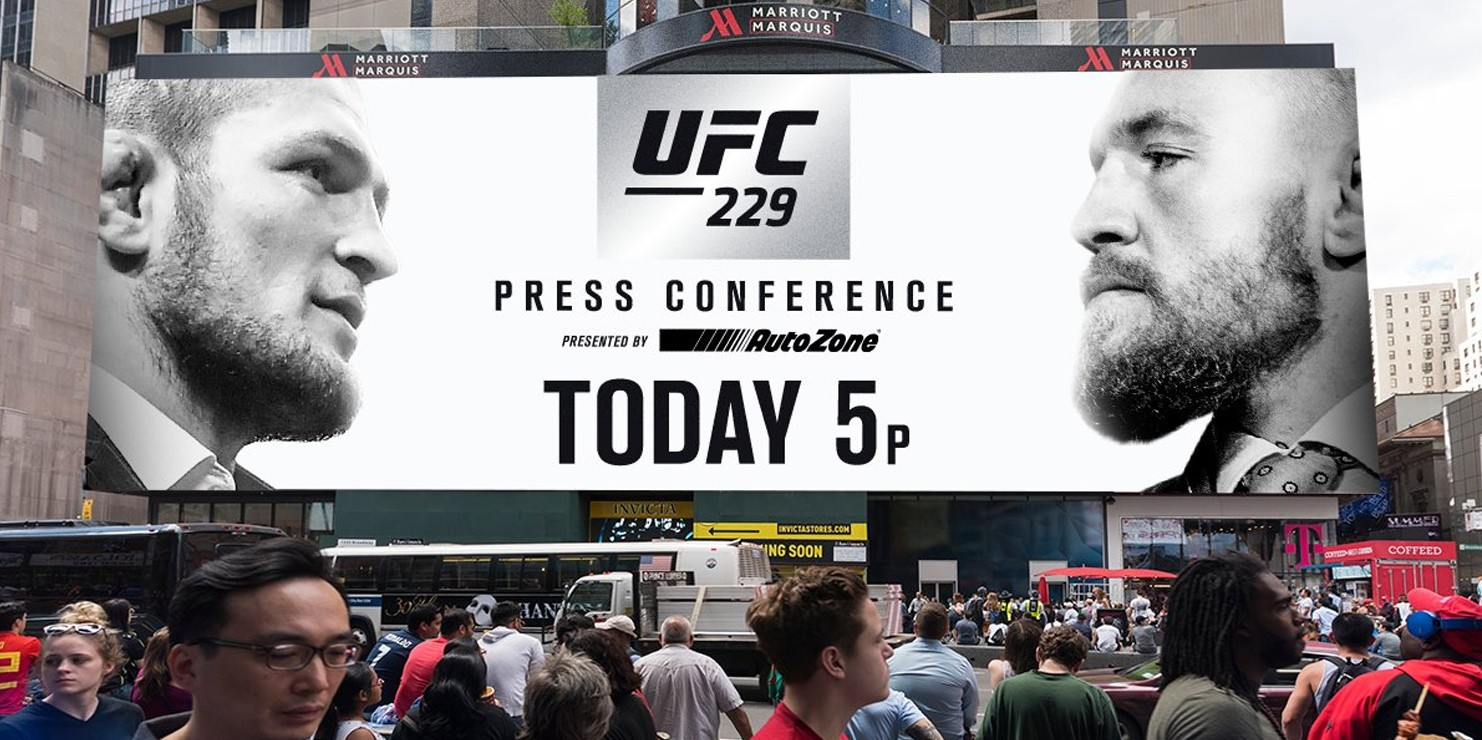 Watch Khabib vs. McGregor UFC 229 Press Conference Live! – Fitness Volt