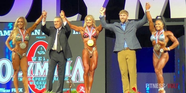 Olympia 2018 Fitness Results