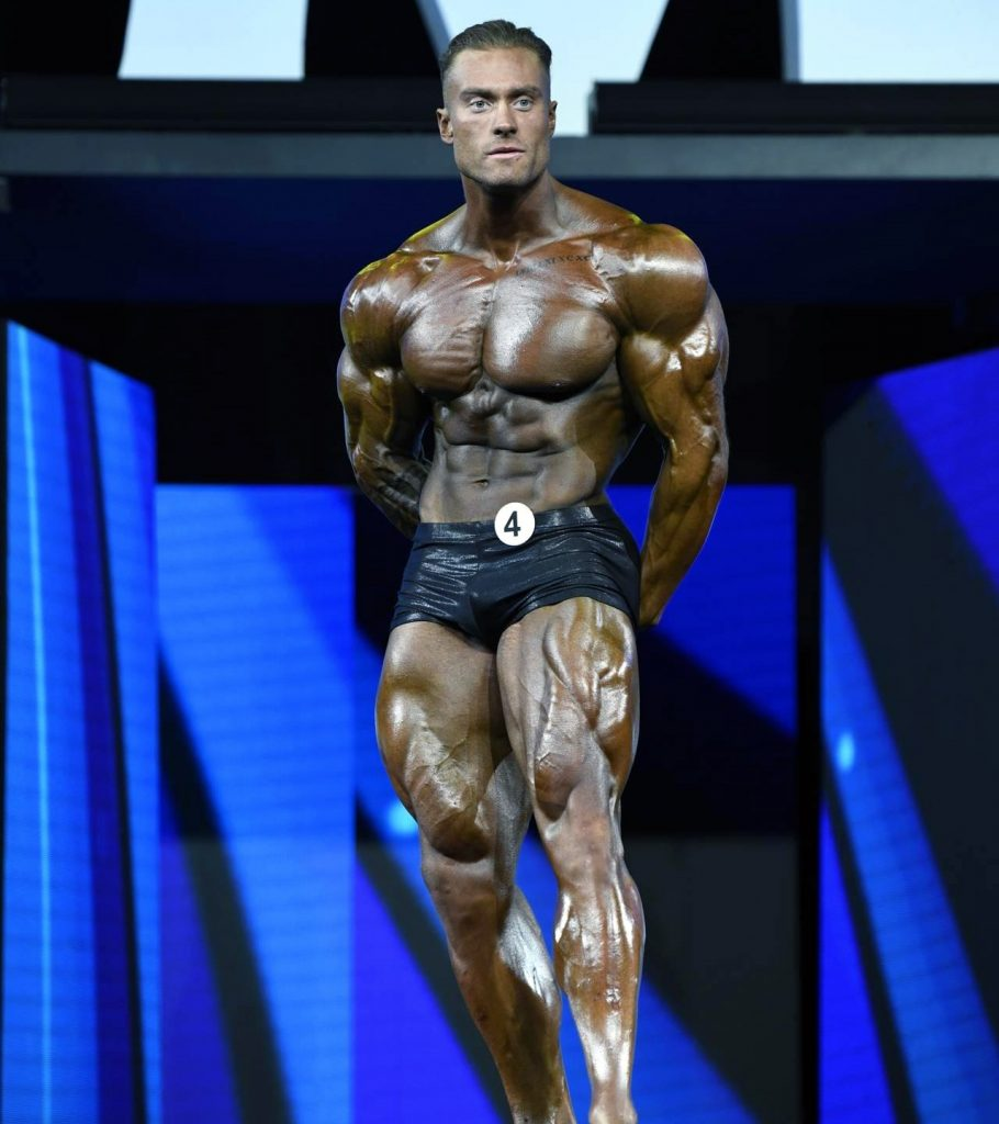 Chris Bumstead was hospitalized weeks out from the Olympia.