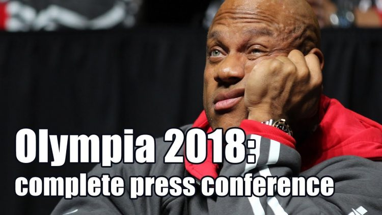 Mr. Olympia 2018 full press conference