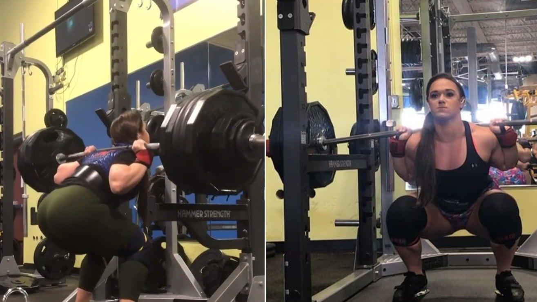Superwoman Amanda Lawrence Squats Better Than Many Male Competitors – Fitness Volt