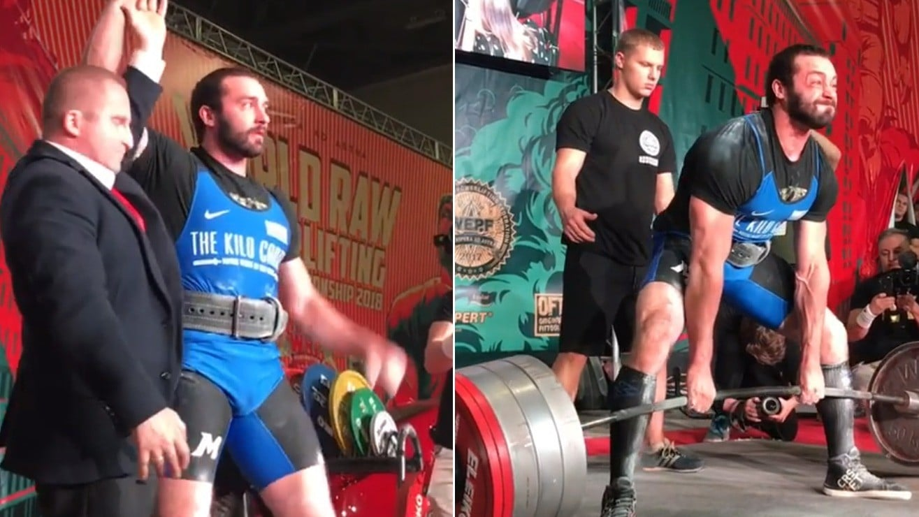 Cailer Woolam Just Broke His Own World Record By Deadlifting