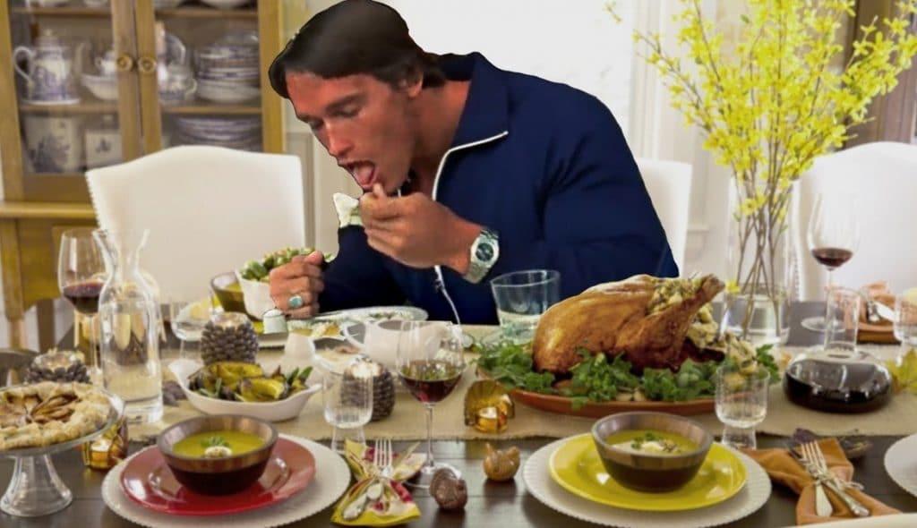 Arnold Eating