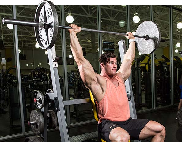 Complete Guide To The Barbell Shoulder Press & Military Press – Fitness Volt
