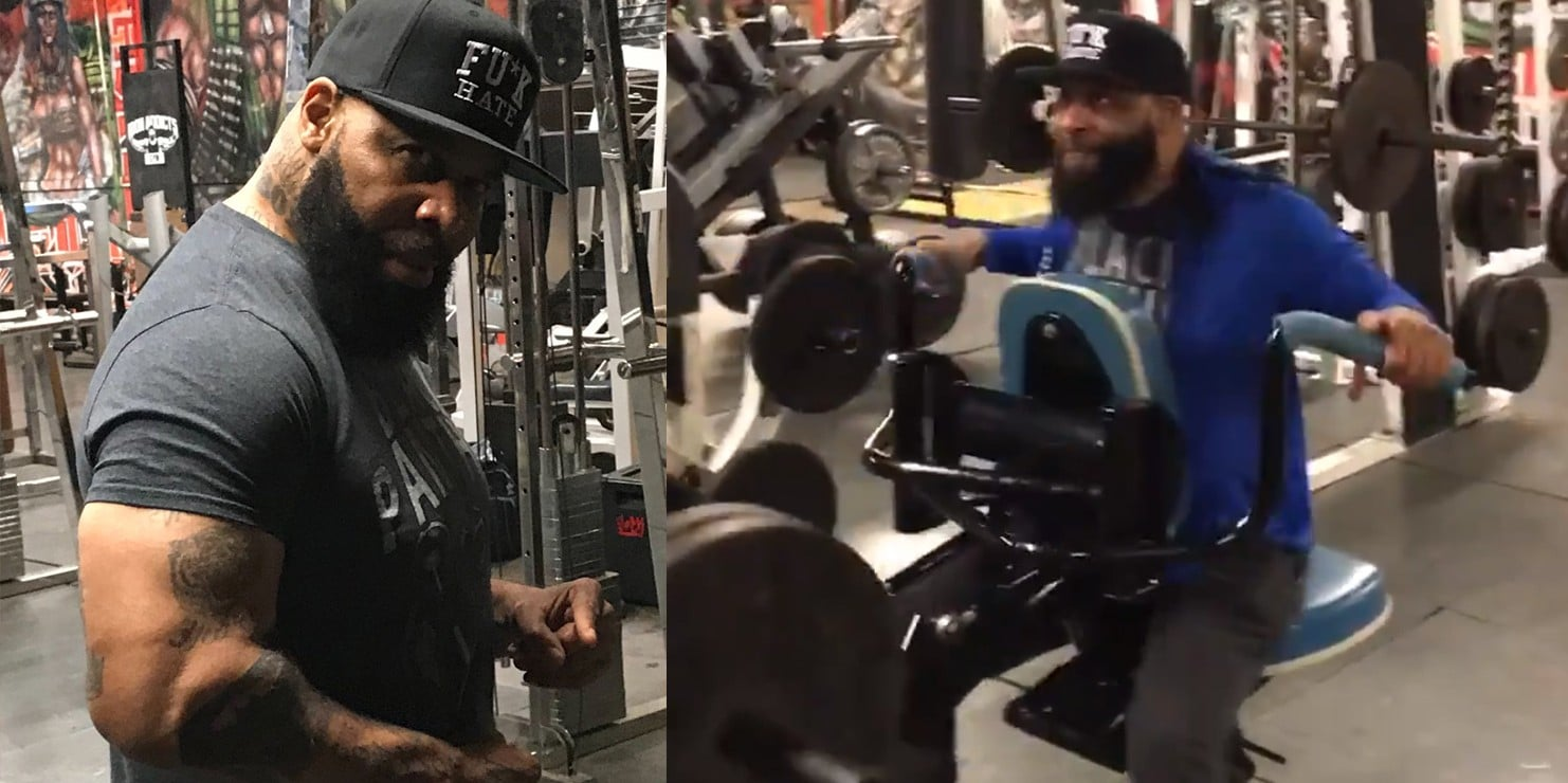 C.T. Fletcher Back In The Gym Looks Strong – Fitness Volt