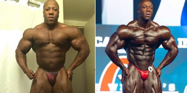 2018 Olympia champ shared some progress photos