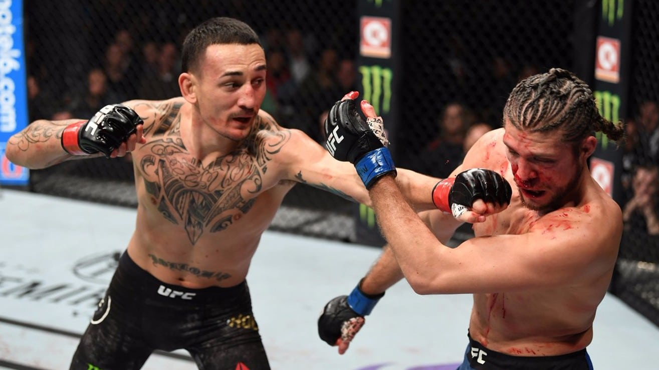 Highlights Max Holloway Demolishes Brian Ortega Remains