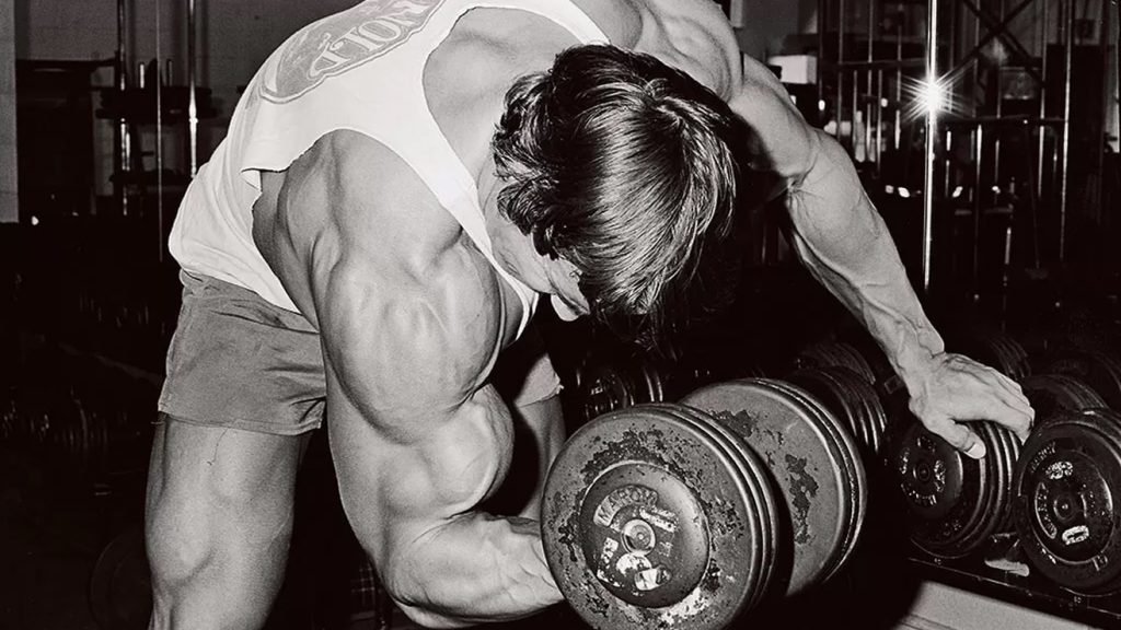 Arnold bicep workout