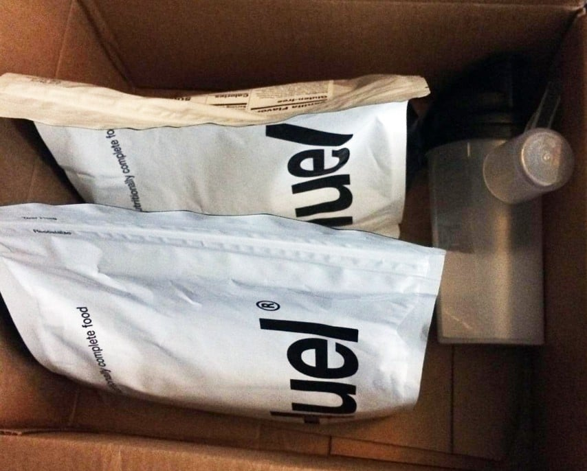 Huel Starter Kit Box