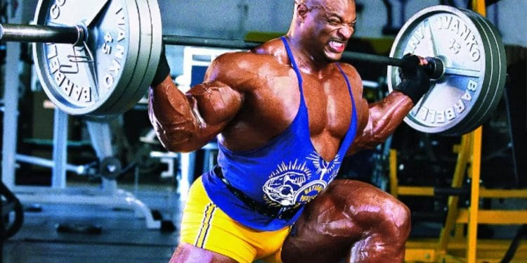Ronnie Coleman Legs Workout