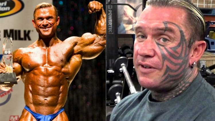 Lee Priest Is Saying Goodbye To His Face Tattoo – Fitness Volt