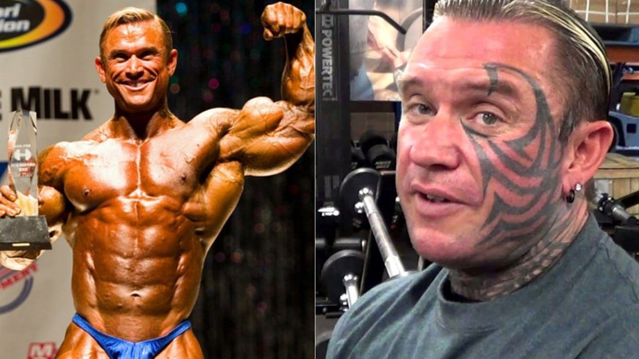 lee priest is saying goodbye to his face tattoo  u2013 fitness volt