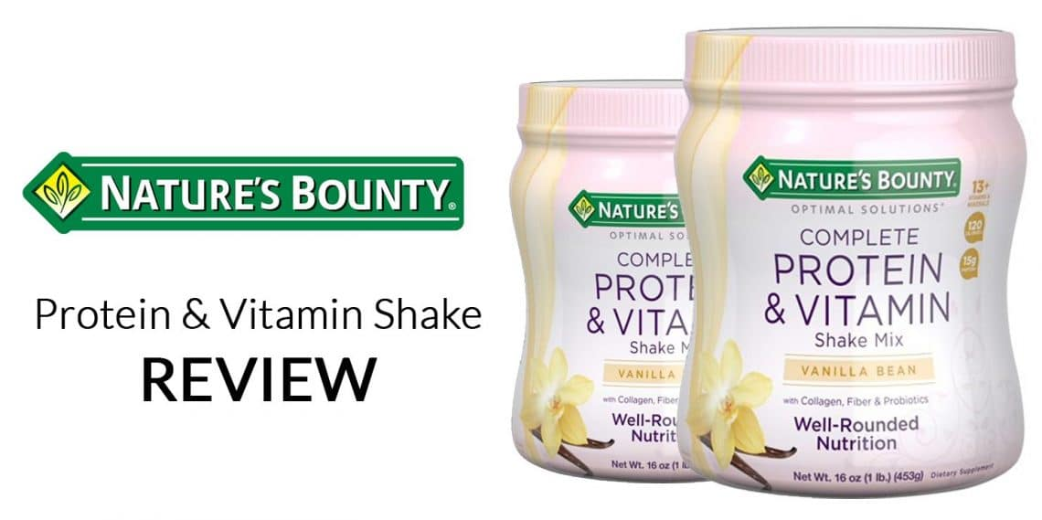 Nature's Bounty Complete Protein & Vitamin Shake Mix