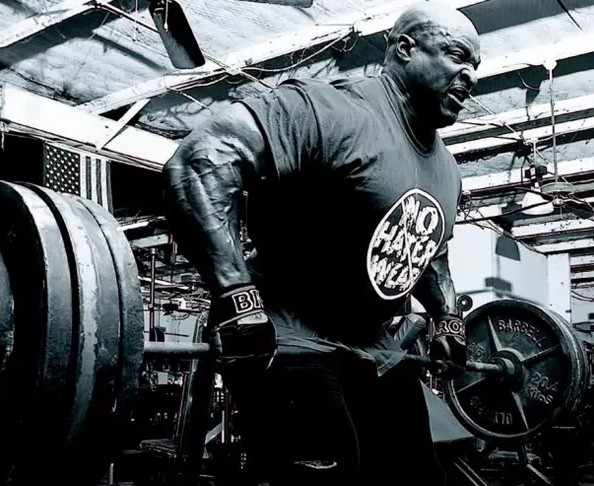 Ronnie Coleman Barbell Rows