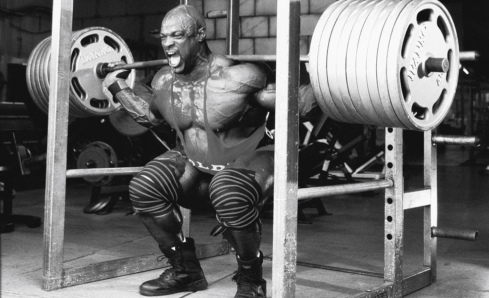 Ronnie Coleman Squats
