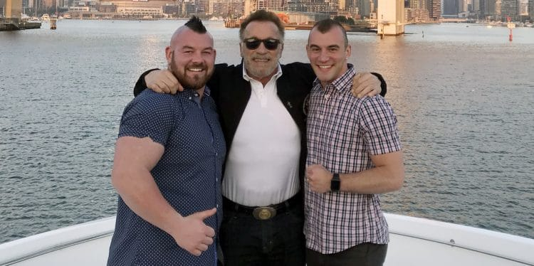 Arnold At Rob Kearney Marriage
