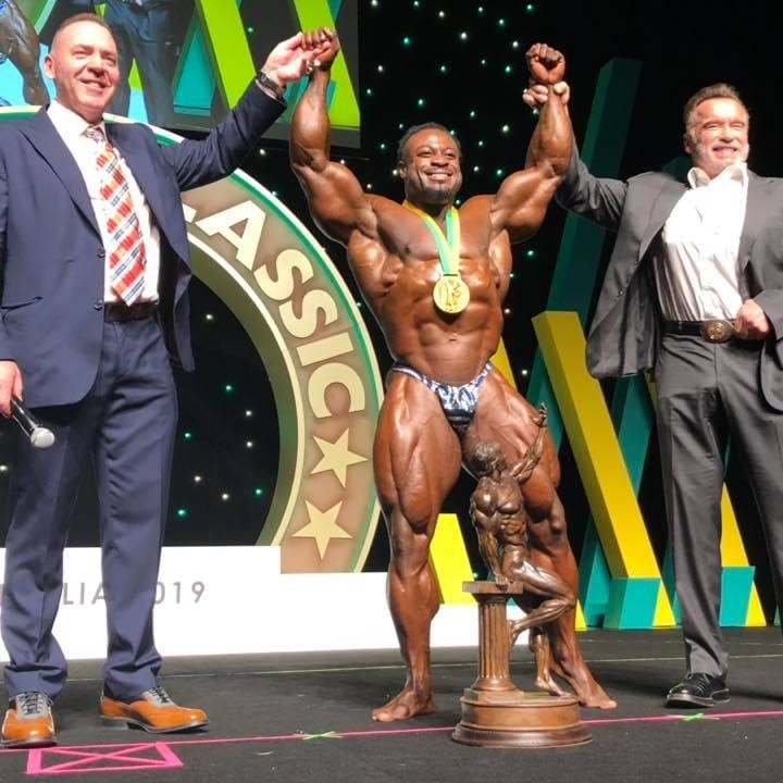Arnold Classic Australia Champ William Bonac