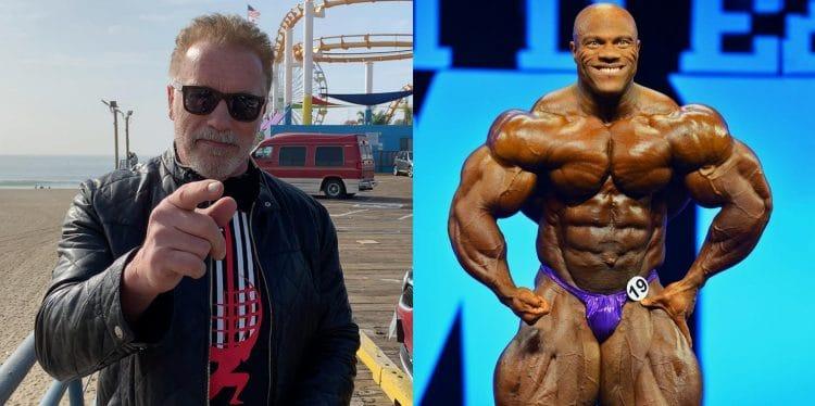 Arnold Schwarzenegger Advice To Phil Heath