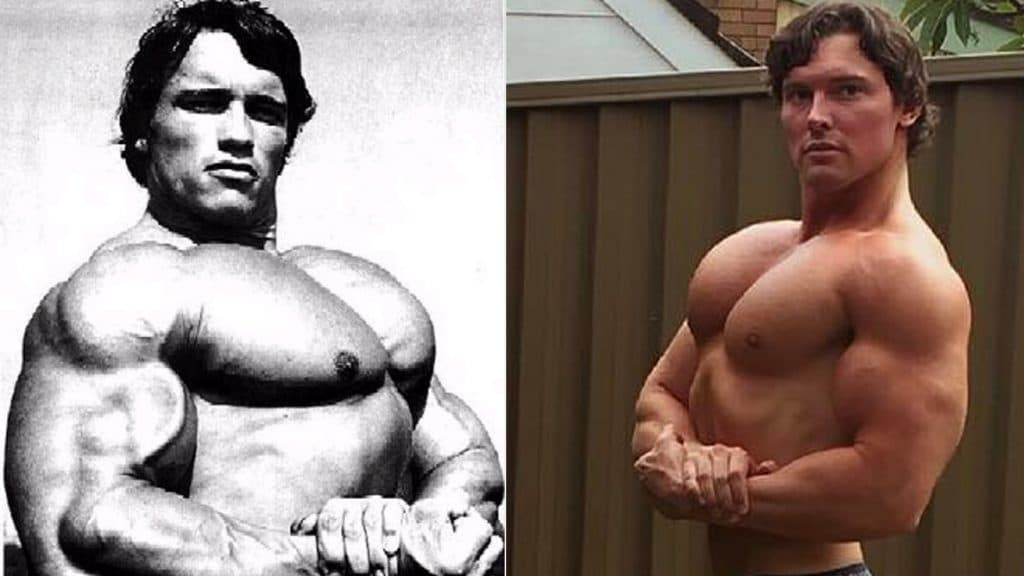 Apparently There's An Arnold Schwarzenegger Clone! – Fitness