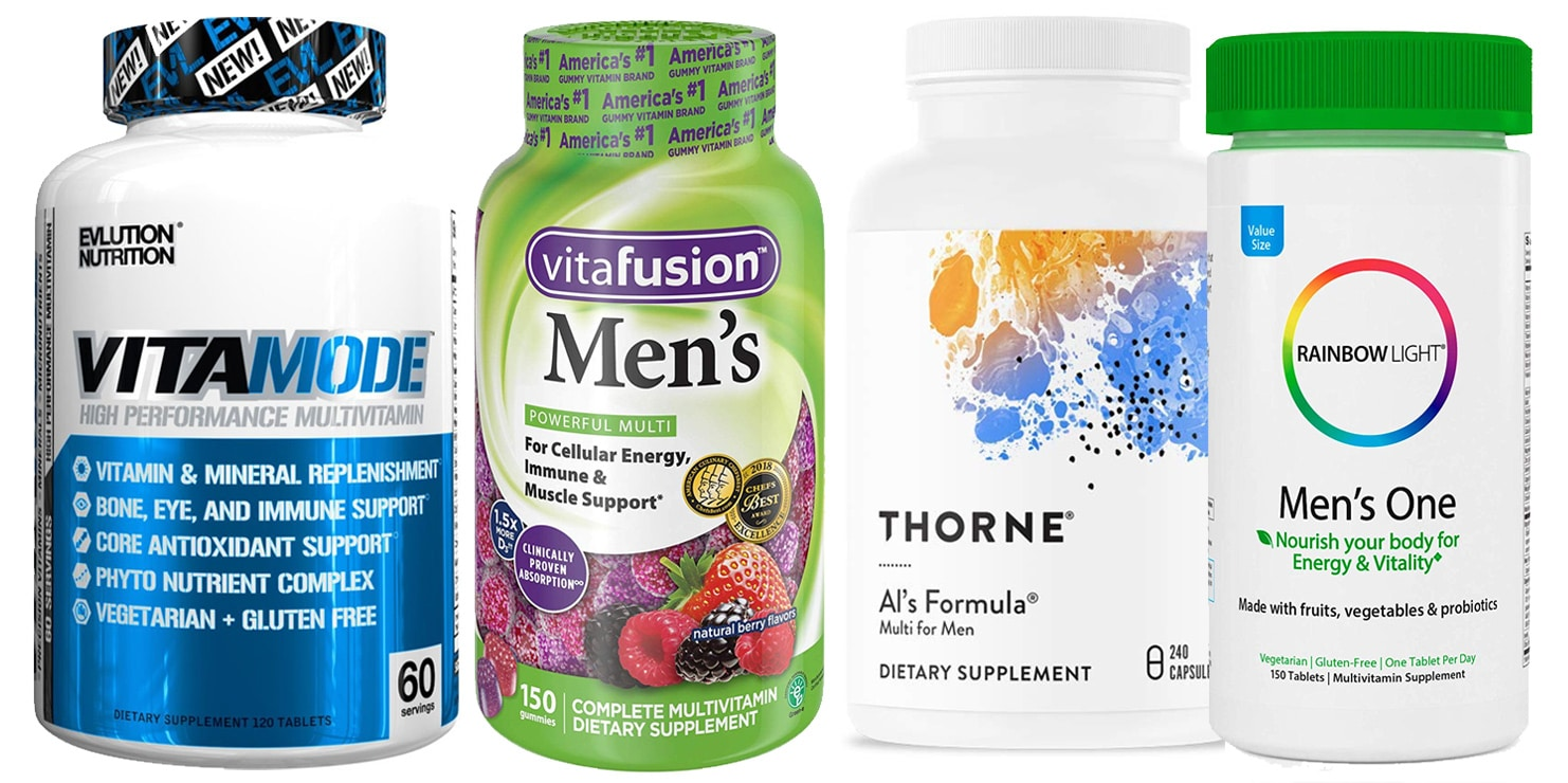 The 7 Best Men's Multivitamins for 2019 – Fitness Volt