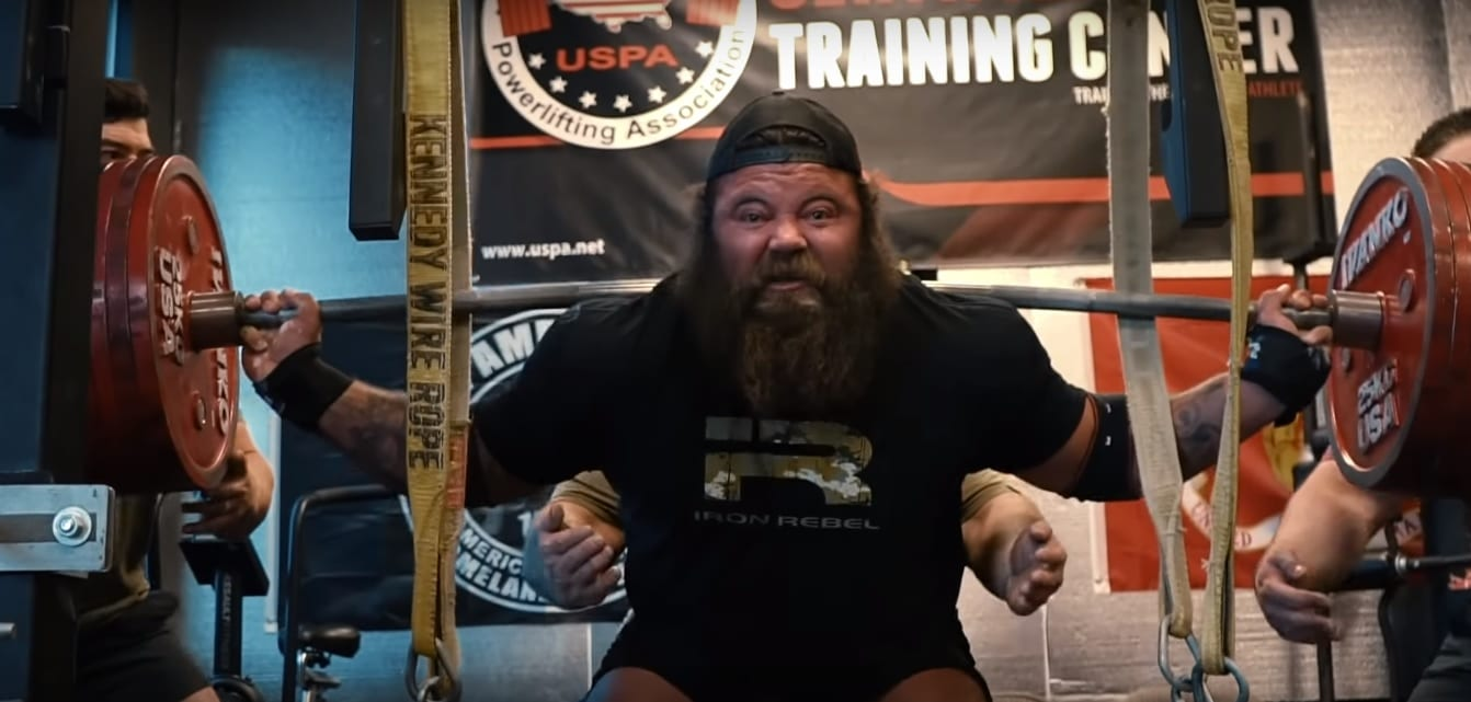 ab3f838c6b Brandon Allen Tears his Quad OF THE BONE Squatting – Fitness Volt