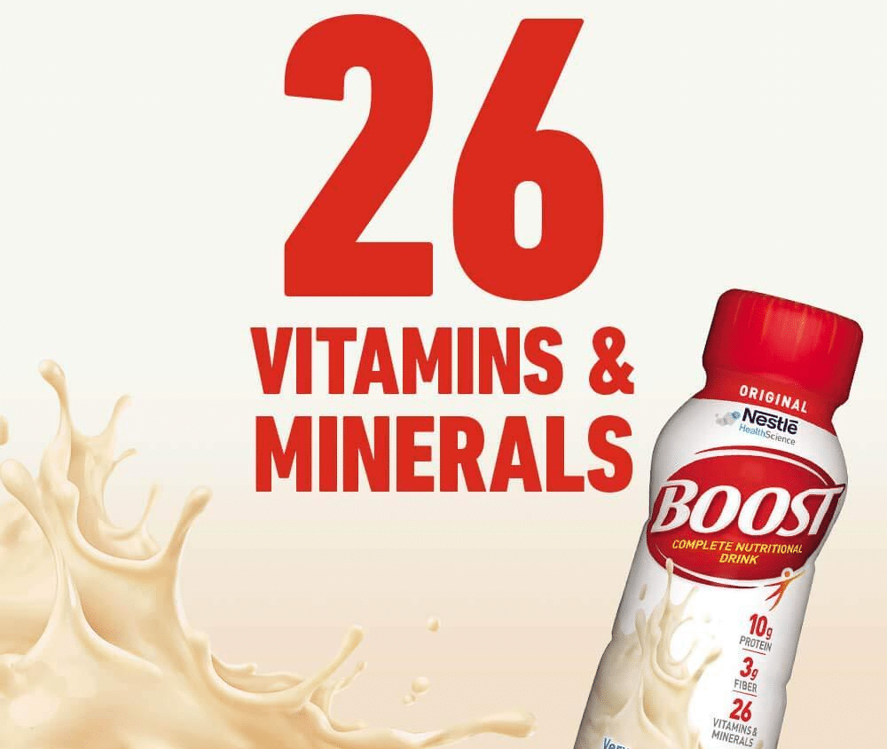 Boost Original Vitamins And Minerals