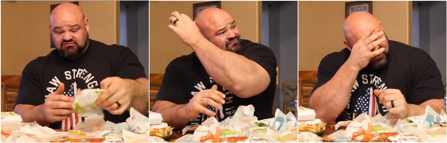 Brian Shaw Takes On 20,000 Calorie