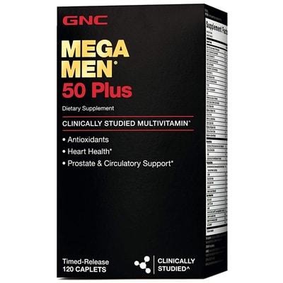 Gnc Mega Men Plus Daily Multivitamin For Men
