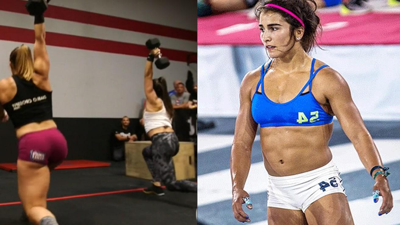 Lauren Fisher Beats Alessandra Pichelli In 19 3 Crossfit