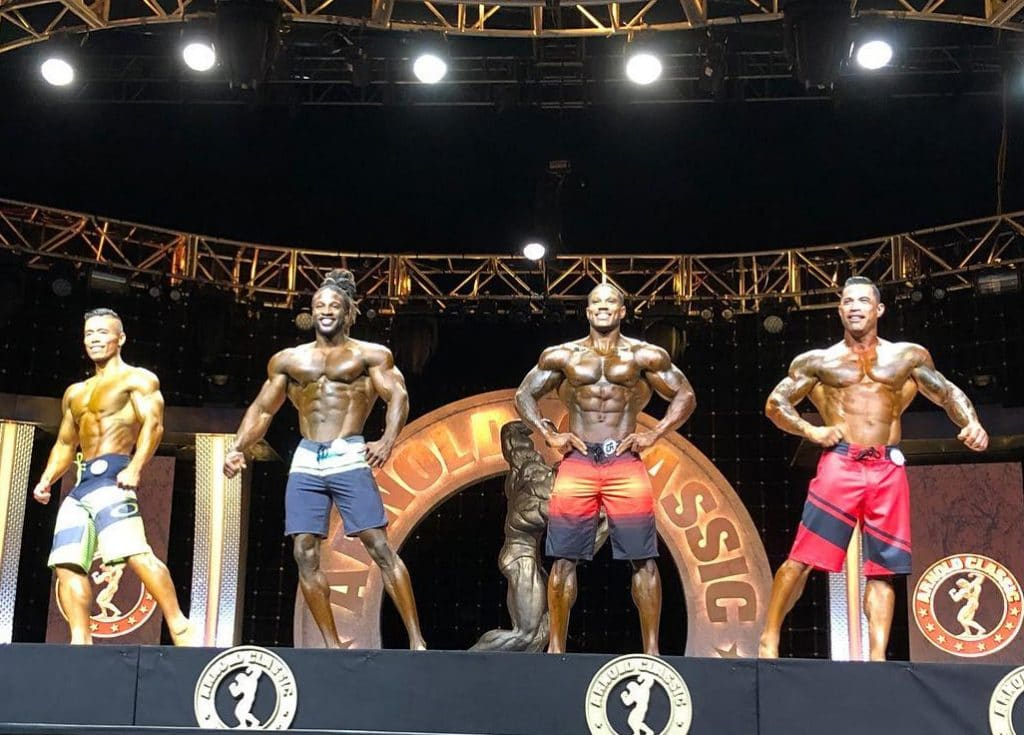Men Physique Prejudging