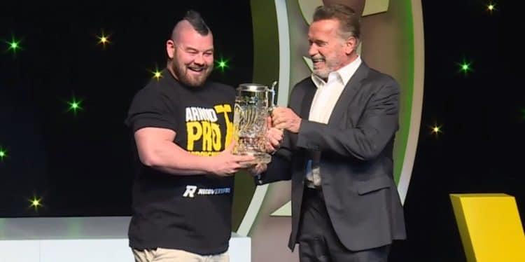 Rob Kearney At Arnold Pro Strongman Australia