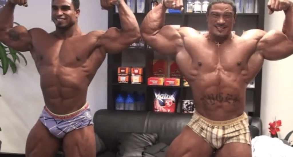 Roelly Winklaar With Brother Quincy