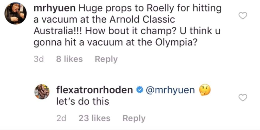 Shawn Rhoden Vacuum Pose