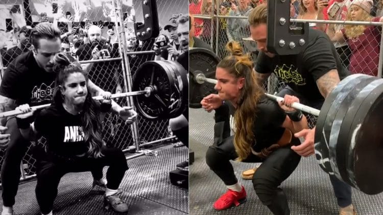 Stefi Cohen World Record In Squat