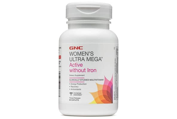 Ultra Mega Active Without Iron Multivitamin