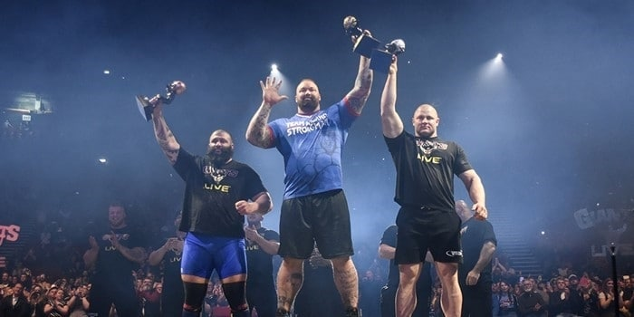 Europes Strongest Man Results