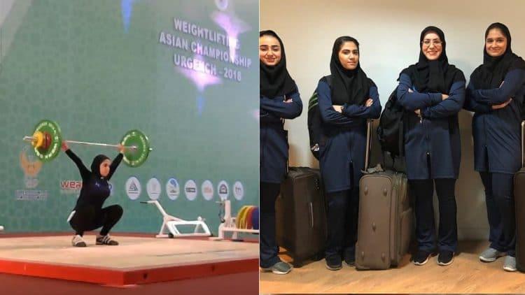 Iranian Weightligting Team