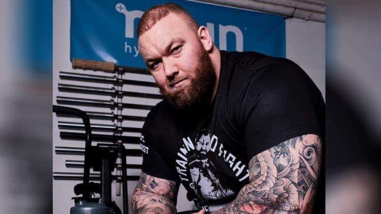 Strongman Hafthor Bjornsson
