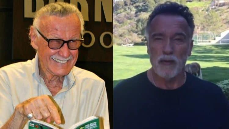 Arnold Schwarzenegger Stan Lee
