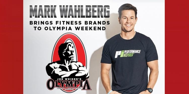 Mark Wahlberg To Join Olympia Team