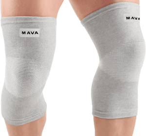 Mava Elastic Knee Supports