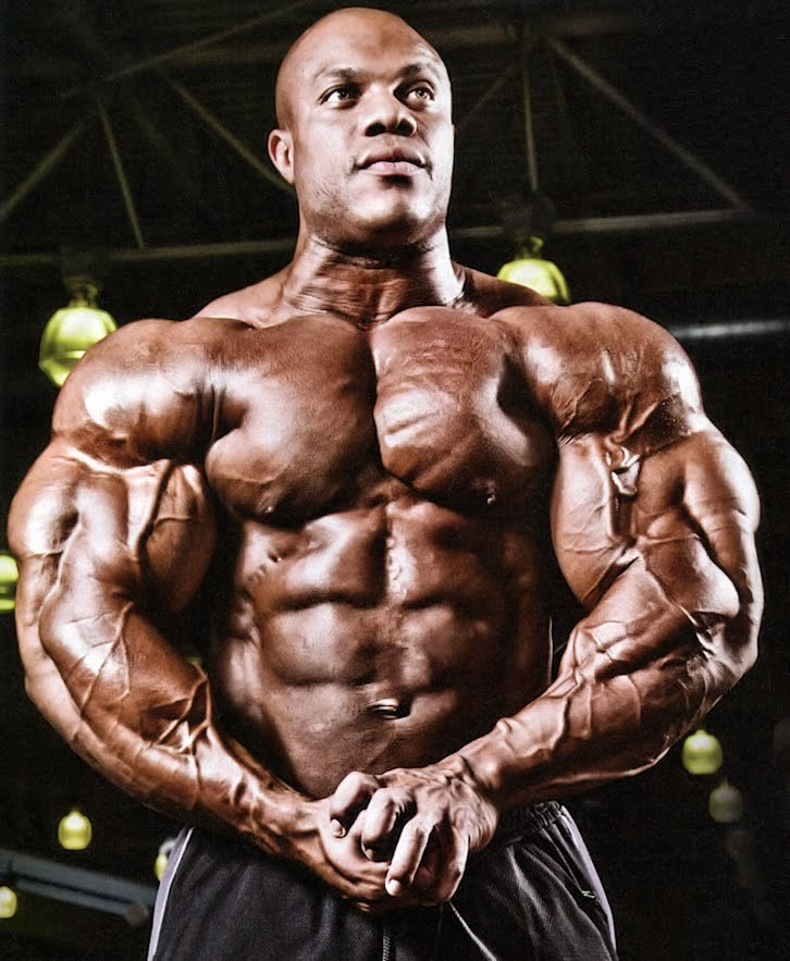 Phil Heath Amazing Chest